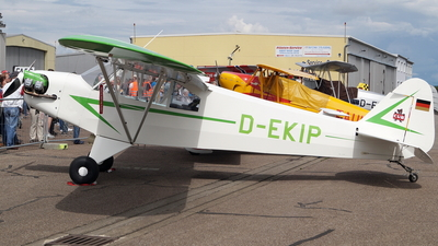 D-EKIP - Piper J-3C-65 Cub - Private