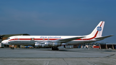 3D-ADV - Douglas DC-8-55(F) - African International Airways