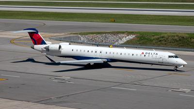 N897SK - Bombardier CRJ-900LR - Delta Connection (SkyWest Airlines)