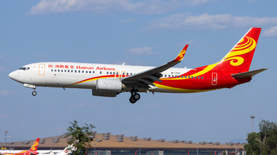 A picture of B1727 - Boeing 73784P - Hainan Airlines - © Danny Yu