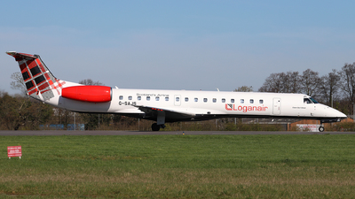 A picture of GSAJS - Embraer ERJ145EP - Loganair - © Dave Potter