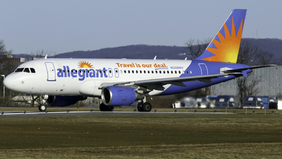 A picture of N326NV - Airbus A319111 - Allegiant Air - © nicholastoto