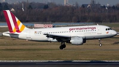 D-AKNP - Airbus A319-112 - Germanwings