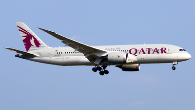 A picture of A7BCY - Boeing 7878 Dreamliner - Qatar Airways - © Joseph Do - SFAP