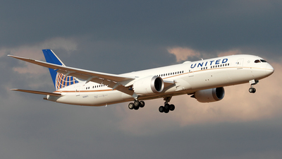 N29971 - Boeing 787-9 Dreamliner - United Airlines