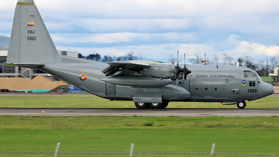 FAC1005 - Lockheed C-130H Hercules - Colombia - Air Force