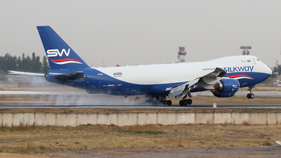 A picture of VQBVC - Boeing 74783Q(F) - Silk Way West Airlines - © Alexandr Balykin