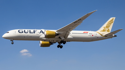 A9C-FB - Boeing 787-9 Dreamliner - Gulf Air