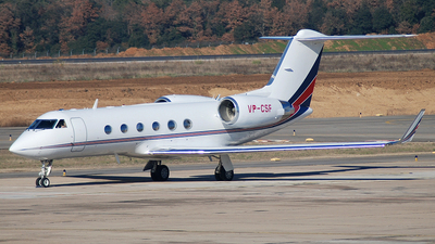 VP-CSF - Gulfstream G-IV(SP) - Private