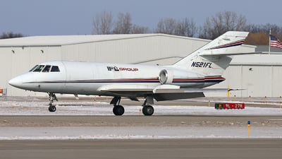 A picture of N521FL - Dassault Falcon 20 - IFL Group - © GregMac