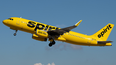 A picture of N692NK - Airbus A320232 - Spirit Airlines - © PAUL LINK