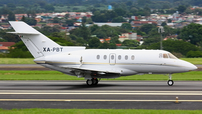 A picture of XAPBT - Hawker 800XP - [258601] - © Jorge andres solano sancho