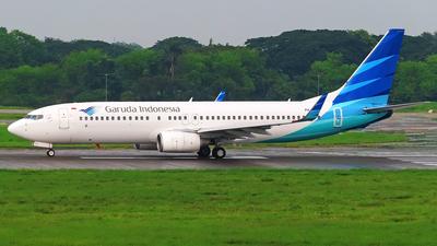 PK-GFA - Boeing 737-86N - Garuda Indonesia