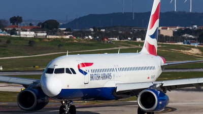 G-EUUF - Airbus A320-232 - British Airways