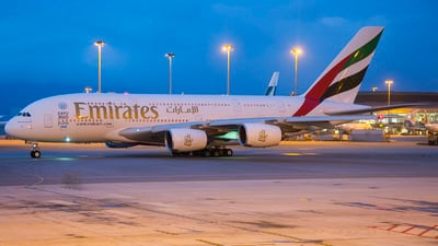 A6-EED - Airbus A380-861 - Emirates
