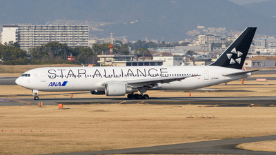 JA614A - Boeing 767-381(ER) - All Nippon Airways (Air Japan)