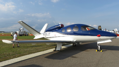 N89JT - Cirrus Vision SF50 - Private
