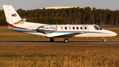 VH-PSU - Cessna 560 Citation Ultra - Australia - Queensland Police Service