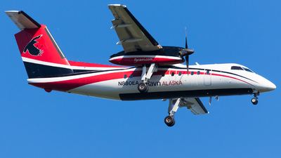 A picture of N880EA - De Havilland Canada Dash 8100 - Ravn Alaska - © Martin Rogosz