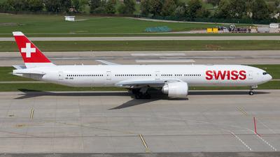 A picture of HBJNB - Boeing 7773DE(ER) - Swiss - © Sebastian Sowa