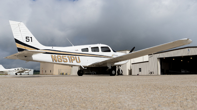 N851PU - Piper PA-28-181 Archer TX - Purdue University
