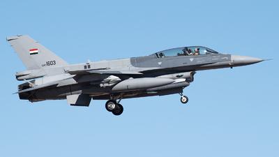 1603 - Lockheed Martin F-16D Fighting Falcon - Iraq - Air Force