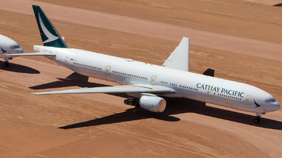 A picture of BHNO - Boeing 777367 - Cathay Pacific - © CATHAY246