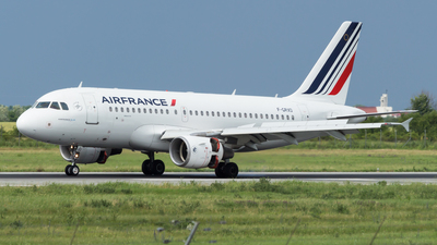 F-GRXD - Airbus A319-111 - Air France