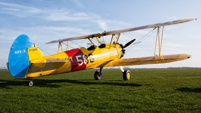 N74650 - Boeing N2S-3 Stearman - Private