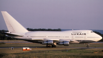 LX-LGY - Boeing 747SP-44 - Luxair - Luxembourg Airlines