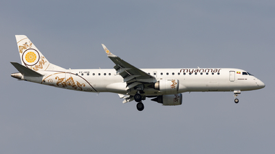 XY-AGQ - Embraer 190-100LR - Myanmar National Airlines