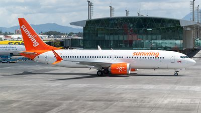 C-FTXF - Boeing 737-8 MAX - Sunwing Airlines