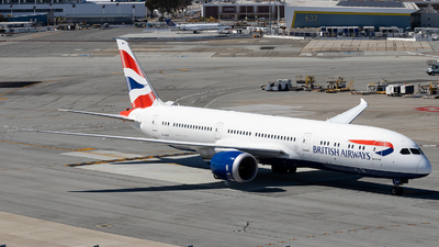 G-ZBKF - Boeing 787-9 Dreamliner - British Airways