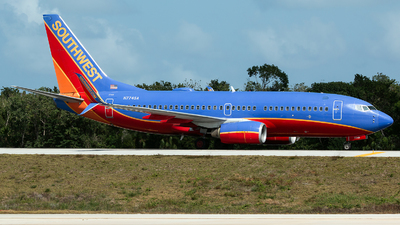 A picture of N7745A - Boeing 7377BD - Southwest Airlines - © Tomasz Kozakowski