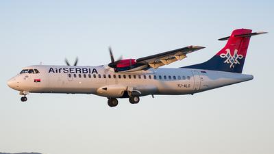 YU-ALO - ATR 72-202 - Air Serbia