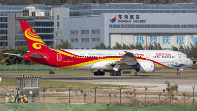 A picture of B1342 - Boeing 7879 Dreamliner - Hainan Airlines - © Eric Wang
