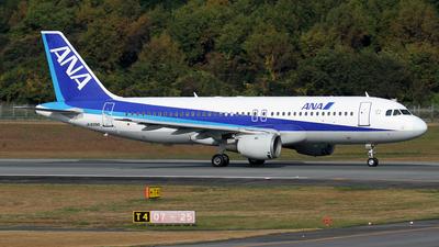 JA8396 - Airbus A320-211 - All Nippon Airways (ANA)