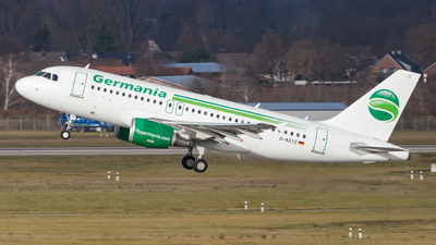 D-ASTZ - Airbus A319-112 - Germania