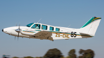 ZS-CHL - Beechcraft 58 Baron - Private