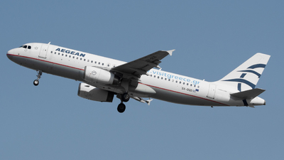 A picture of SXDGD - Airbus A320232 - Aegean Airlines - © Nick L.