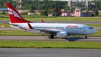 4L-TGM - Boeing 737-76N - Georgian Airways (AirZena)