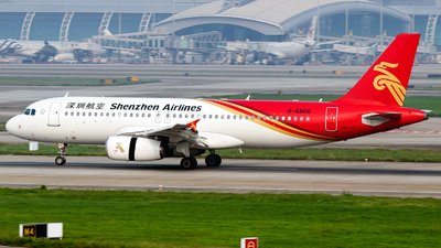 B-6806 - Airbus A320-232 - Shenzhen Airlines