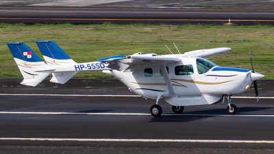 HP-555D - Cessna 337D Super Skymaster - Private