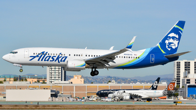 N508AS - Boeing 737-890 - Alaska Airlines