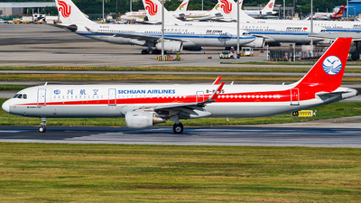 A picture of B8605 - Airbus A321211 - Sichuan Airlines - © Miaomiao