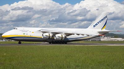 A picture of UR82072 - Antonov An124100150 - Antonov Design Bureau - © David Schilcher