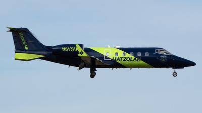 N613HA - Bombardier Learjet 60 - HatzolAir