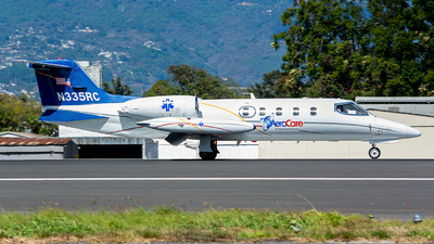 N335RC - Gates Learjet 35A - AeroCare Medical Transport