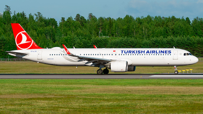 A picture of TCLTC - Airbus A321271NX - Turkish Airlines - © Laszlo Fekete