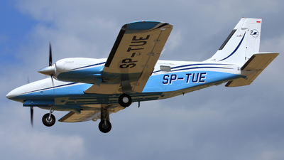 SP-TUE - Piper PA-34-220T Seneca V - OKL - Aviation Training Centre of Rzeszow Technical University